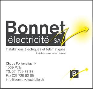 Bonnet Electricité SA